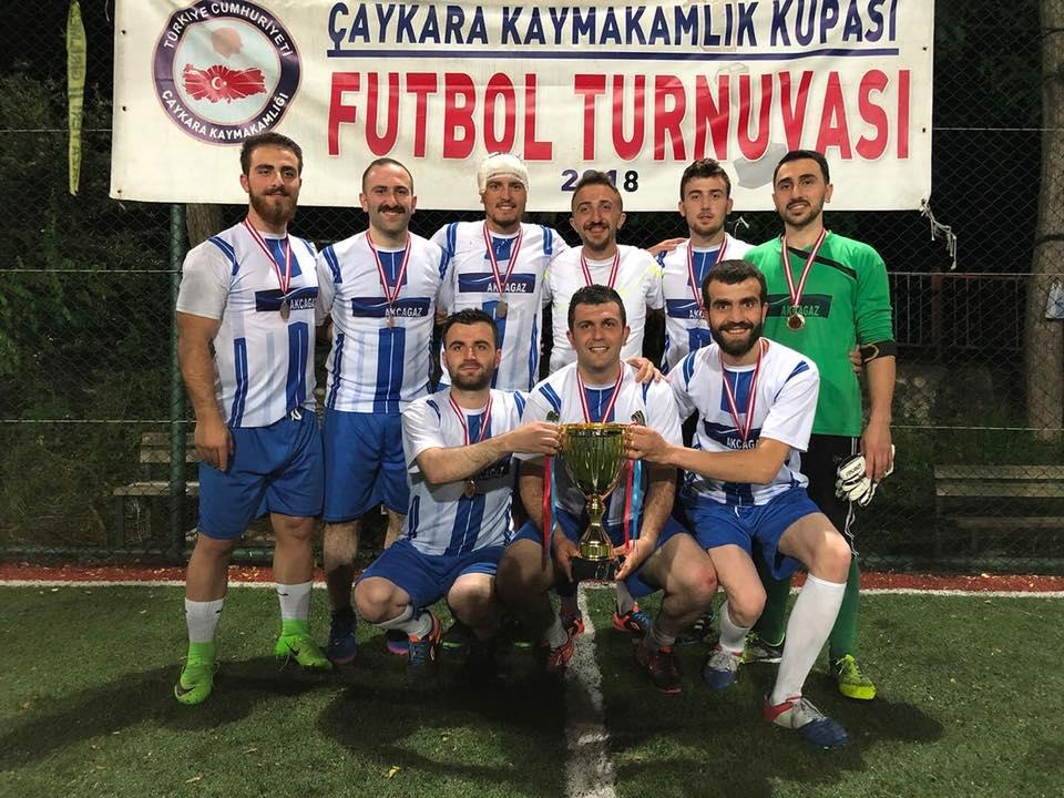 Çaykara Kaymakamlık Kupası Şampiyonu Eğridere 1