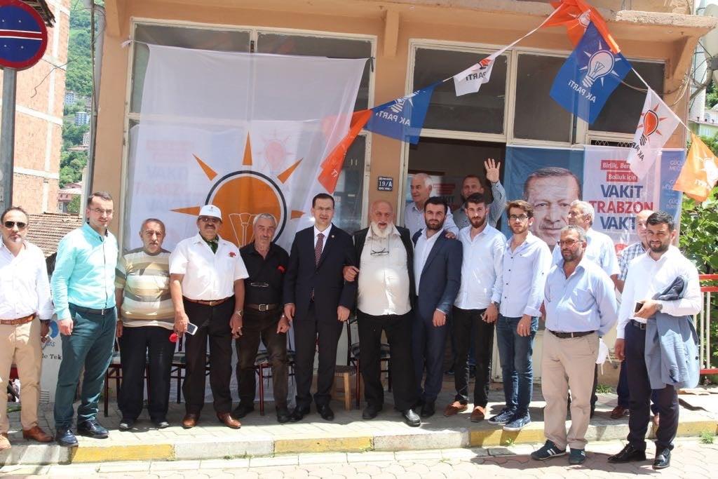 Ak Parti adaylarından Çaykara çıkarması 14
