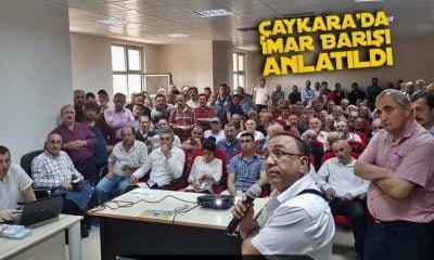 Çaykara'da İmar Barışı Toplantısı Yapıldı
