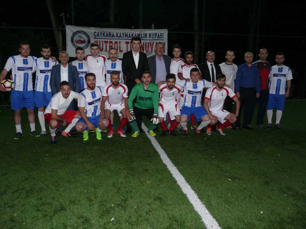 Çaykara Kaymakamlık Kupası Şampiyonu Eğridere 6