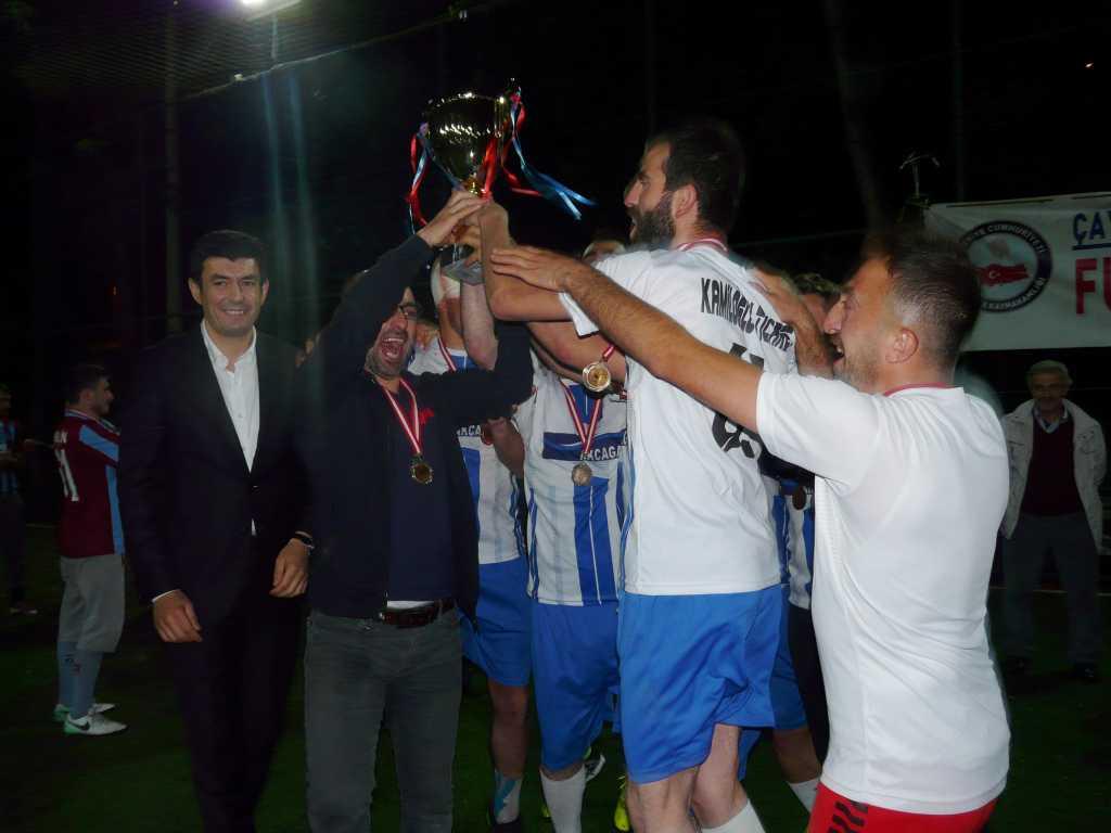 Çaykara Kaymakamlık Kupası Şampiyonu Eğridere 7