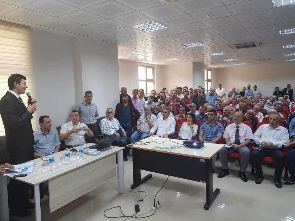 Çaykara'da İmar Barışı Toplantısı Yapıldı 1