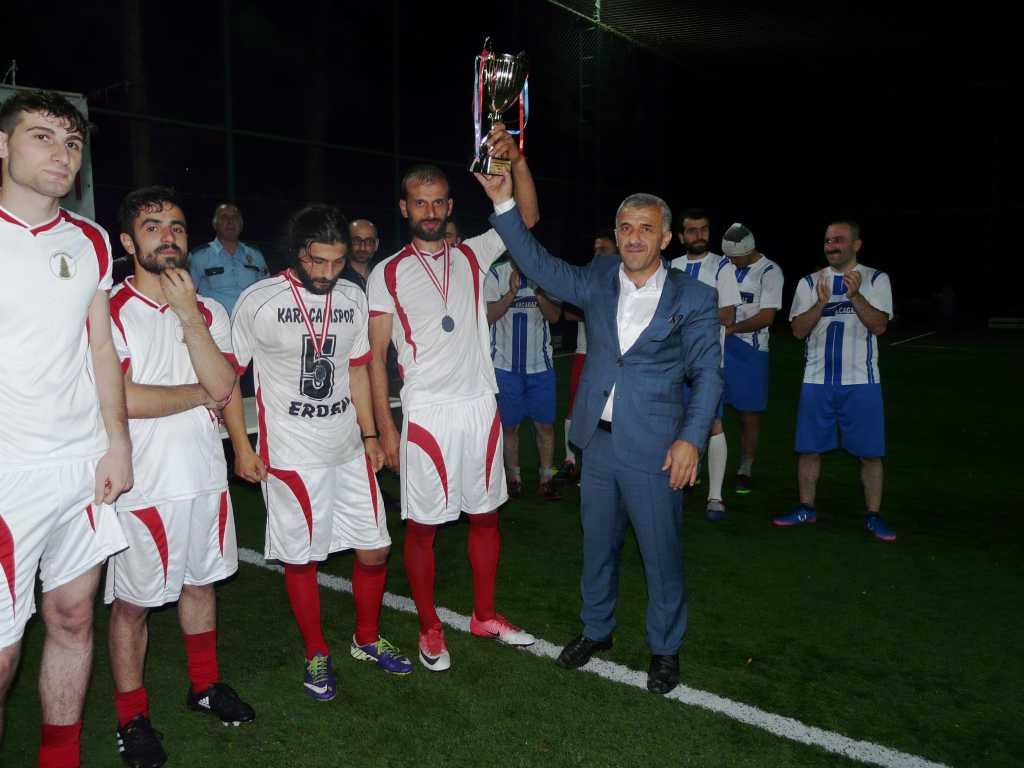 Çaykara Kaymakamlık Kupası Şampiyonu Eğridere 12