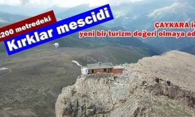 3200 metredeki Kırklar mescidi görenleri hayrete düşürüyor