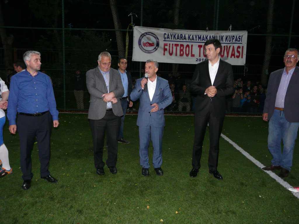 Çaykara Kaymakamlık Kupası Şampiyonu Eğridere 50