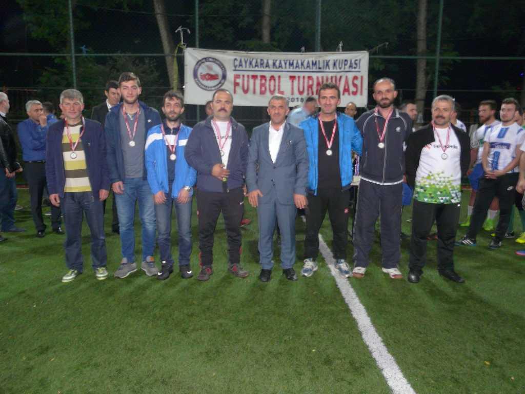 Çaykara Kaymakamlık Kupası Şampiyonu Eğridere 17