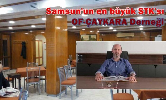Samsun'un en büyük STK'sı Of-Çaykara Derneği