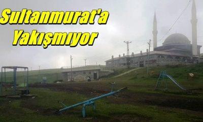 Bu çocuk parkı Sultanmurat'a yakışmıyor