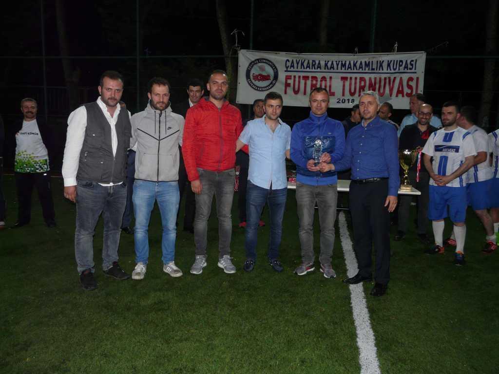 Çaykara Kaymakamlık Kupası Şampiyonu Eğridere 18