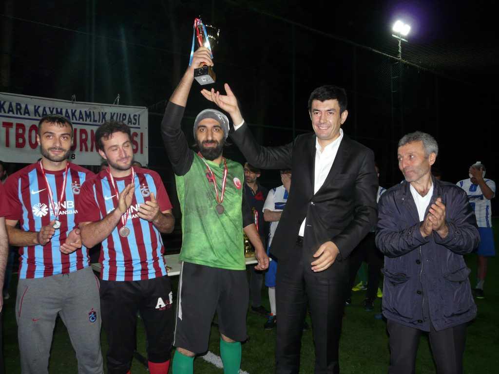 Çaykara Kaymakamlık Kupası Şampiyonu Eğridere 14
