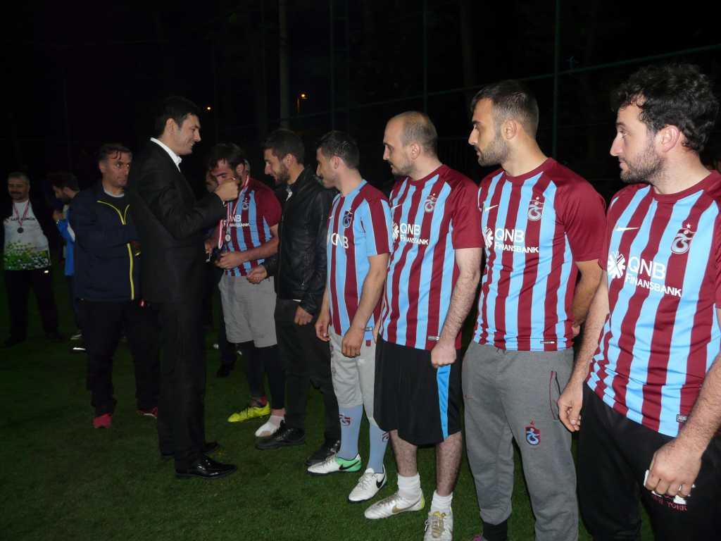 Çaykara Kaymakamlık Kupası Şampiyonu Eğridere 13