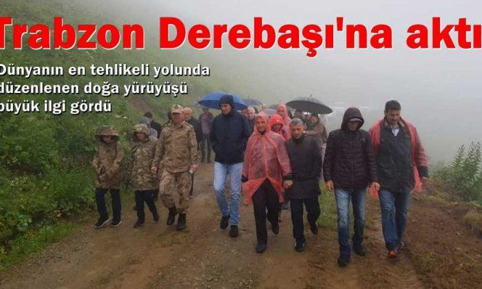 Trabzon Derebaşı'na aktı