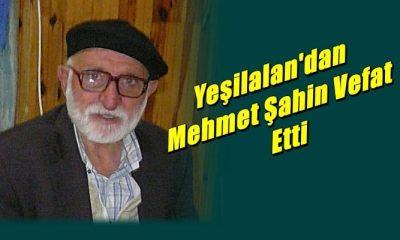 Sanayici ve İş adamı Yaşar Şahin'in babası H.Mehmet Şahin vefat etti