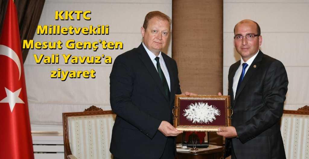 KKTC Milletvekili Genç Vali Yavuz'u ziyaret etti