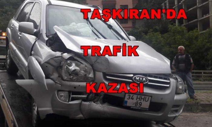 Taşkıran'da Trafik kazası