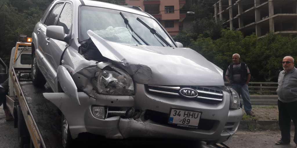 Taşkıran'da Trafik kazası 4