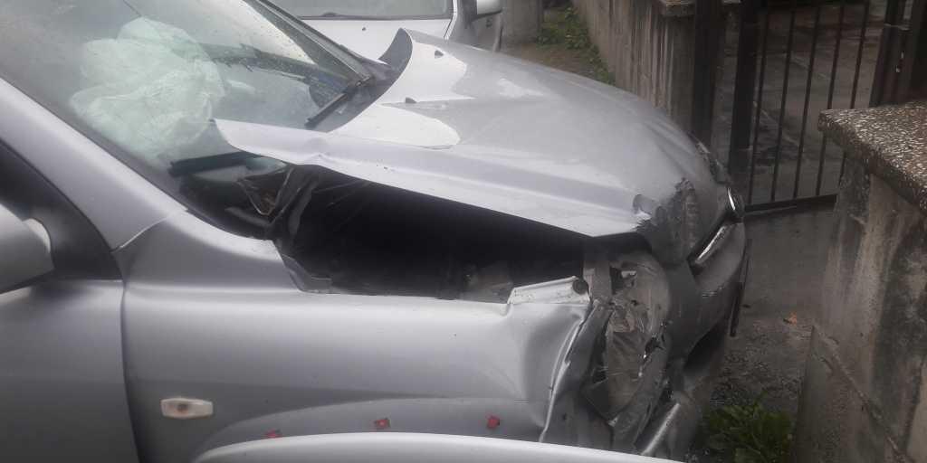 Taşkıran'da Trafik kazası 1