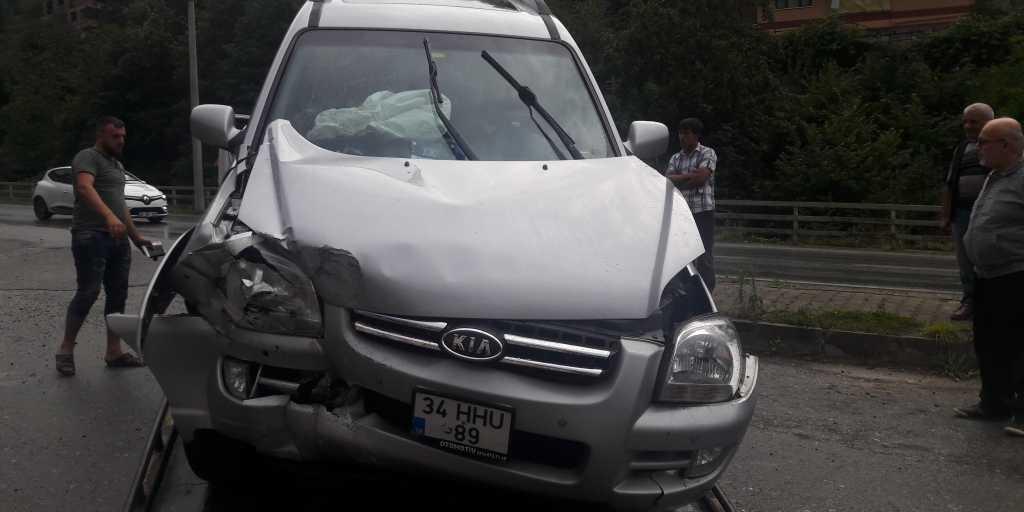 Taşkıran'da Trafik kazası 5