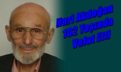 Kayran Mahallesinden Nuri Akdoğan (Şikon)102 yaşında vefat etti