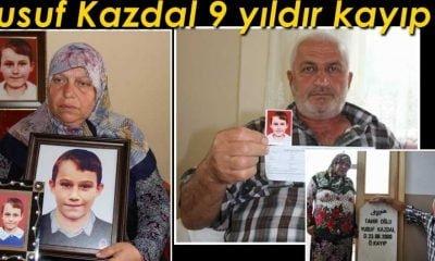 9 yaşında kaybolan Yusuf 9 yıldır kayıp!