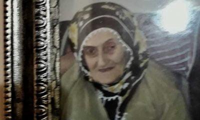 Şahinkaya'da Safiye Hacıahmetoğlu vefat etti