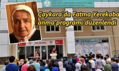 Öğrencler Fatma Yerekaban'ı unutmadı