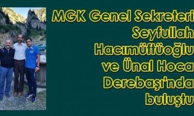 Ünal Hoca Seyfullah Hacımüftüoğlu'nu ziyaret etti