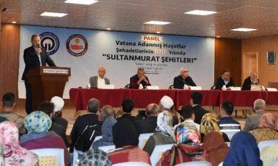 """Sultanmurat Yaylasında """"Vatana Adanmış Hayatlar: Şehadetlerinin 100. Yılında Sultanmurat Şehitleri"""" konulu panel düzenlendi"""