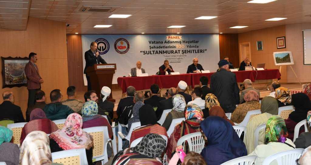 """Sultanmurat Yaylasında """"Vatana Adanmış Hayatlar: Şehadetlerinin 100. Yılında Sultanmurat Şehitleri"""" konulu panel düzenlendi 21"""