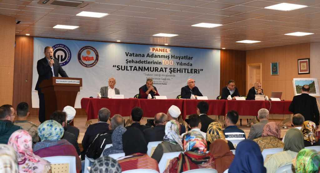 """Sultanmurat Yaylasında """"Vatana Adanmış Hayatlar: Şehadetlerinin 100. Yılında Sultanmurat Şehitleri"""" konulu panel düzenlendi 9"""