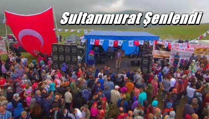 Geleneksel Sultanmurat  Yayla Ortası Şenlikleri yapıldı