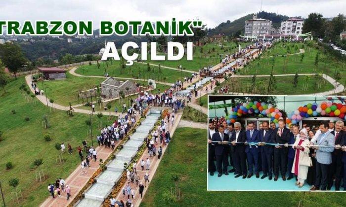 Trabzon Botanik Hizmete Girdi