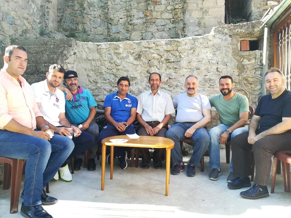 Ünal Hoca Seyfullah Hacımüftüoğlu'nu ziyaret etti 1