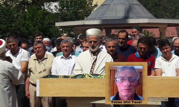 Şahinkaya'dan Yunus Ulvi Yazar'a son görev
