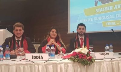 Stajyer Avukat Türkiye ikincisi oldu