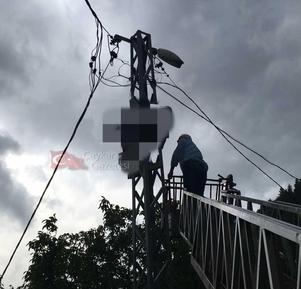 Şahinkaya'da elektrik can aldı! 2