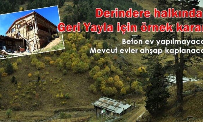 Asu-Folizallardan yayla evleri için emsal karar