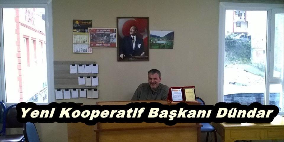 Yeni Kooperatif Başkanı Dündar