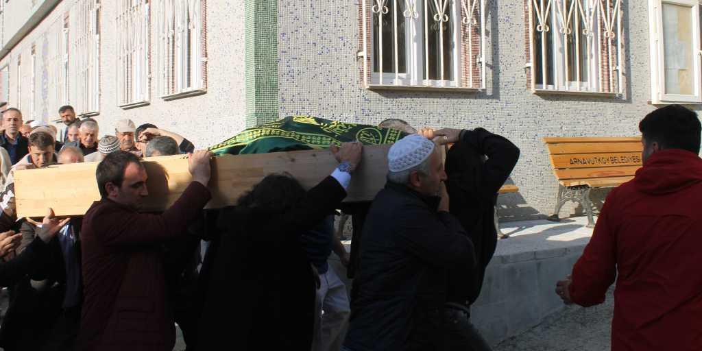 Ahmet Sevinç'i birlerce kişi uğurladı. 11