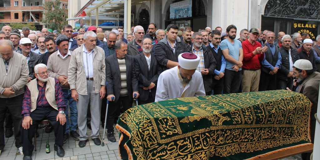 Mustafa Kaplan Taşkıran'da toprağa verildi 6