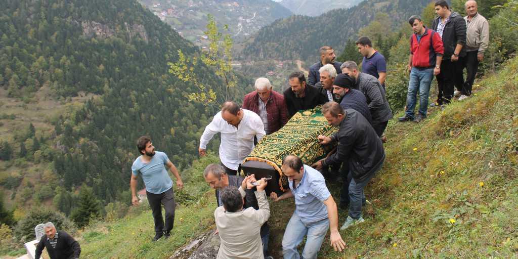 Mustafa Kaplan Taşkıran'da toprağa verildi 8