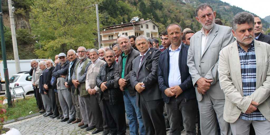 Mustafa Kaplan Taşkıran'da toprağa verildi 4