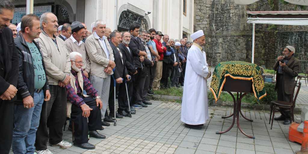Mustafa Kaplan Taşkıran'da toprağa verildi 1