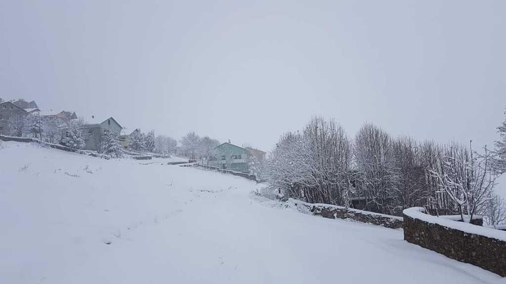 Çaykara yaylalarına mevsimin ilk kar'ı düştü 2018 1