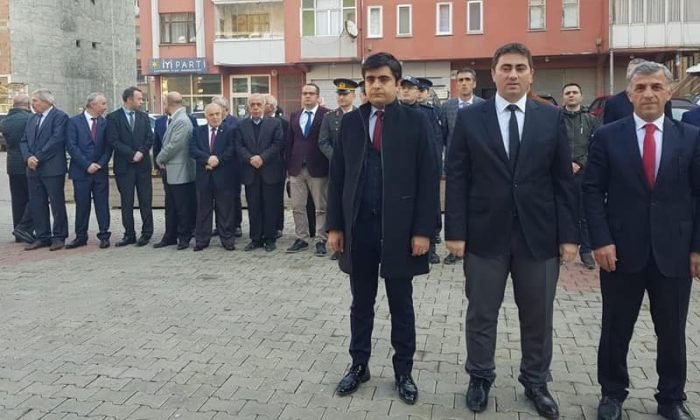 Büyük önder Atatürk Çaykara'da anıldı