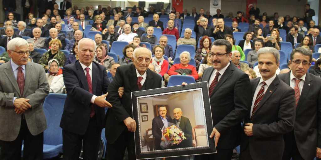 Trabzon'un efsane öğretmeni, asırlık çınar Ahmet Gürsoy unutulmadı! 11