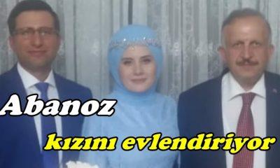 Abanoz kızını evlendiriyor