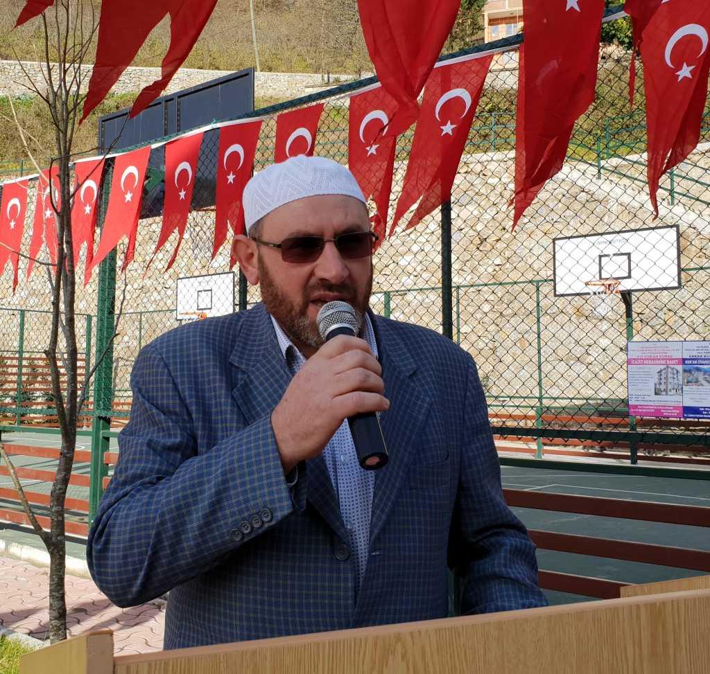 Kur'an kursuna ait modern spor sahası ve oyun parkının açılısı yapıldı 6
