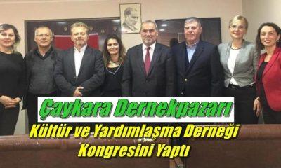 Ankara Çaykara-Dernekpazarı Kültür ve Yardımlaşma Derneği kongresini yaptı