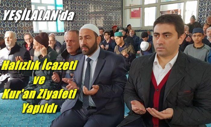 Hacı Ferşad Efendi Kur'an Kurslarında hafızlık İcazeti ve Kur'an ziyafeti gerçekleştirildi